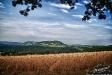 Blick über Kahla / Leuchtenburg