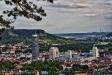 Blick über Jena, vom Landgrafen