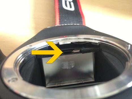 Mattscheibe Canon 6D EG-D