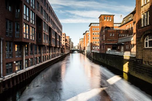 Im schönen Hamburg